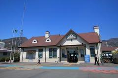 Jinhae station i Sydkorea Arkivbild
