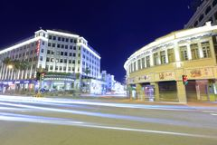 Jinhou-Hotelnachtsichtgerät, luftgetrockneter Ziegelstein rgb Lizenzfreies Stockfoto