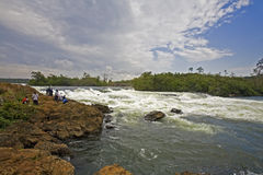 Jinja falls Stock Photo