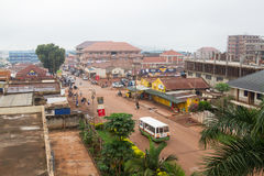 Jinja Uganda Fotografia Stock Libera da Diritti