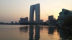 Jinji jezioro 2014, Suzhou zdjęcie royalty free