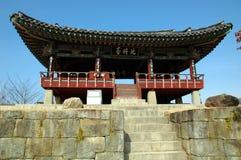 Jinju Fortress. Historic Jinju Fortress in South Korea Stock Photos