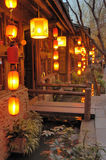 Jinli old town at night Stock Image