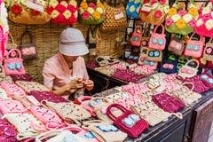Jinli Street in Chengdu, Sichuan, China Royalty Free Stock Photos