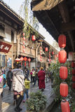 Jinlin old street view Royalty Free Stock Image