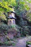 Jinling заглатывает скалистое в угле парка Стоковое Изображение