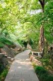 Jinlings-Ecke des Gartens Lizenzfreie Stockbilder