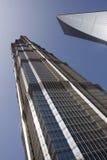 Jinmao en toren Shimao Stock Foto