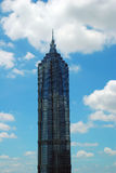 The Jinmao tower in Shanghai. Royalty Free Stock Photography