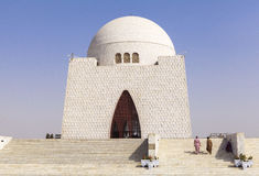 Jinnah Mausoleum en Karachi, Paquistán Foto de archivo libre de regalías
