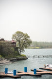 Jinniu Lake scenery Stock Photos