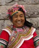 Женщина этнического Yi Стоковое фото RF