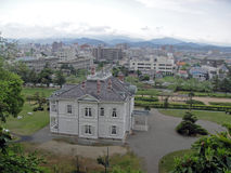 Jinpukaku en Tottori imagen de archivo