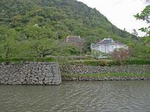 Jinpukaku in Tottori Stockbild