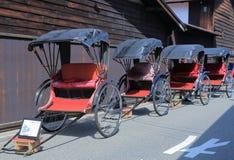 Japanese traditional rickshaw Stock Photos