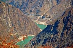 Jinsha Fluss Lizenzfreie Stockfotos