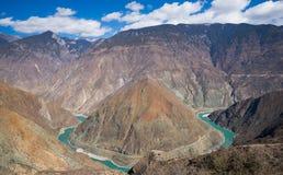 Jinsha river Stock Photo