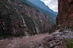 Jinsha River Grand Canyon stock photo