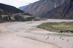 Jinsha River Royalty Free Stock Images