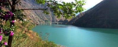 Jinsha river royalty free stock photo