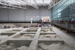 Jinsha-Standortmuseum Stockfoto