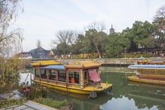 Jinshan πάρκο ένα Zhenjiang σκηνή Στοκ Εικόνα