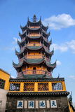 Jinshan Temple, Zhenjiang, Jiangsu Province Royalty Free Stock Photos