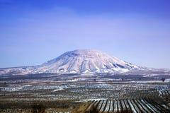 Jinshan wulkan Obrazy Stock