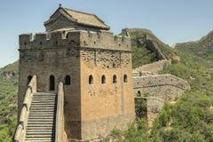 Jinshanling, Китай - Великая Китайская Стена Стоковая Фотография RF