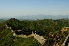 Jinshanling, China - die Chinesische Mauer Stockbild