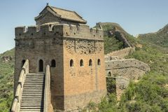 Jinshanling, China - die Chinesische Mauer Lizenzfreie Stockfotografie