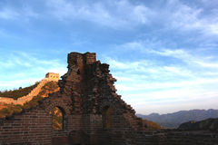 Jinshanling Great Wall in Beijing. Jinshanling Great Wall. It is one of typicaland complete Great Wall of Ming Dynasty,located in the place brtween MiyunCountry Royalty Free Stock Image