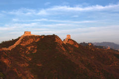 Jinshanling Great Wall in Beijing. Jinshanling Great Wall. It is one of typicaland complete Great Wall of Ming Dynasty,located in the place brtween MiyunCountry Stock Image