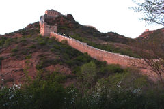 Jinshanling Great Wall in Beijing. Jinshanling Great Wall. It is one of typicaland complete Great Wall of Ming Dynasty,located in the place brtween MiyunCountry Stock Photos