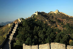The Jinshanling Great Wall Fall in Chengde Hebei, China Royalty Free Stock Photos
