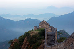 Jinshanling Great Wall Royalty Free Stock Photo