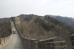 Great Wall of China, Mutianyu stock photo