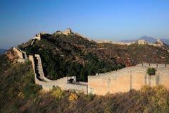 The Jinshanling Great Wall Winter in Chengde Hebe, China Stock Photos