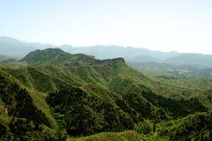 Jinshanling Kina - den stora väggen Arkivbilder