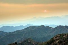 Jinshanling mountains Stock Image