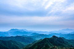 Jinshanling mountains Royalty Free Stock Images