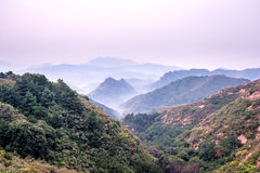 Jinshanling mountains Royalty Free Stock Photography