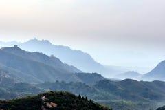 Jinshanling mountains Royalty Free Stock Photo