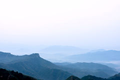Jinshanling mountains Stock Photo
