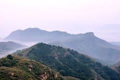 Jinshanling mountains Royalty Free Stock Photos