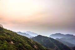 Jinshanling mountains Stock Photos
