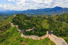 Jinshanling Section of The Great Wall stock photography