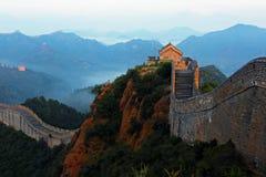 Jinshanling stor vägg royaltyfria bilder