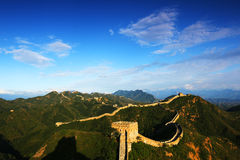 Jinshanling wielki mur Fotografia Royalty Free