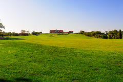 The Jinshi Beach golf course Royalty Free Stock Photography